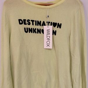 NWT WILDFOX sweater
